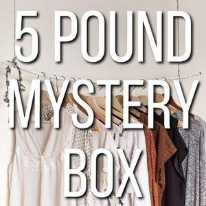 5 lb Mystery Re-seller Clothing Box